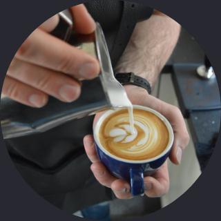 Cappuccino-mobiele-koffiebar